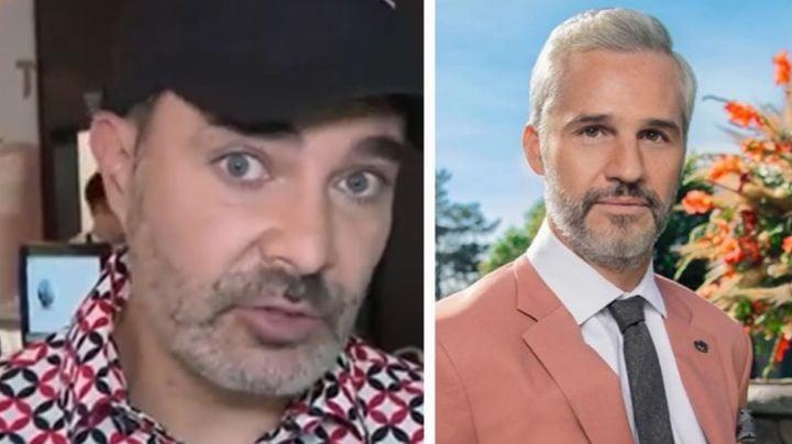 ¡En shock! Famoso exgalán de Televisa, sin creer que le amputaron una pierna a Juan Pablo Medina