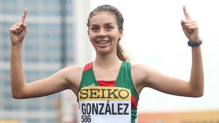 ¡Orgullo para México! Alegna González debuta y triunfa en la marcha de 20km de Tokio 2020