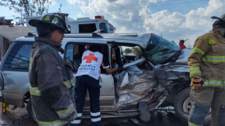 Pierde la vida un bebé de 3 meses tras accidente vial en carretera Anáhuac-Riva Palacio