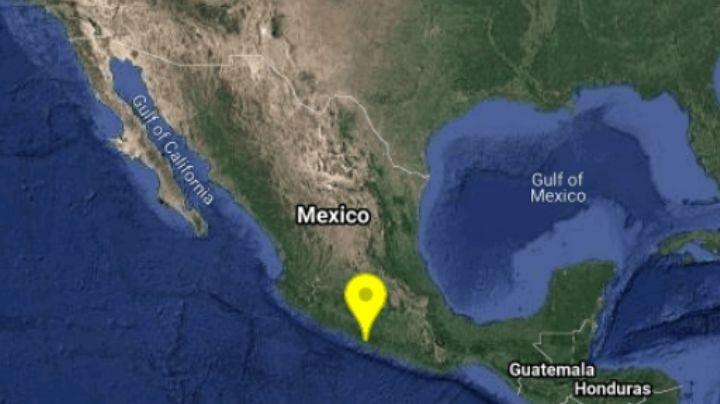 SSN registra sismo de magnitud 4.4 en Guerrero; el epicentro fue en Técpan