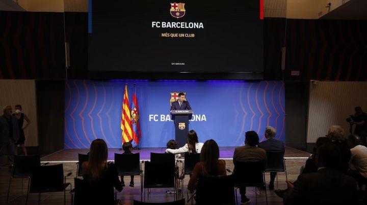 """VIDEO: ¡De no creerse! Esta fue la reacción de Messi al despedirse del Barcelona: """"Lo di todo"""""""