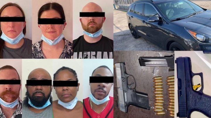 Frustran ingreso a Sonora de armas y más de 8 mil 600 dosis de droga; hay 23 detenidos