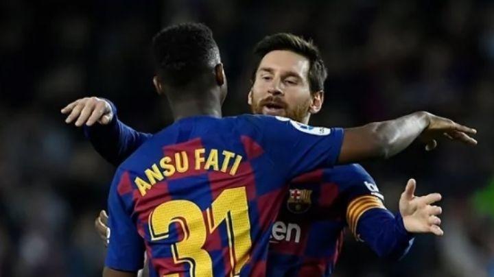 FC Barcelona encuentra reemplazo para Lionel Messi; Ansu Fati será el nuevo 10 del equipo