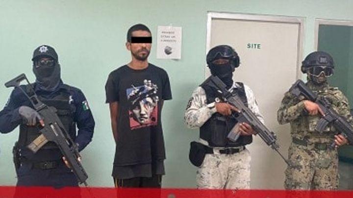 Atrapan a presunto 'tirador' en Cajeme; le aseguran 14 envoltorios de marihuana y 'crystal'