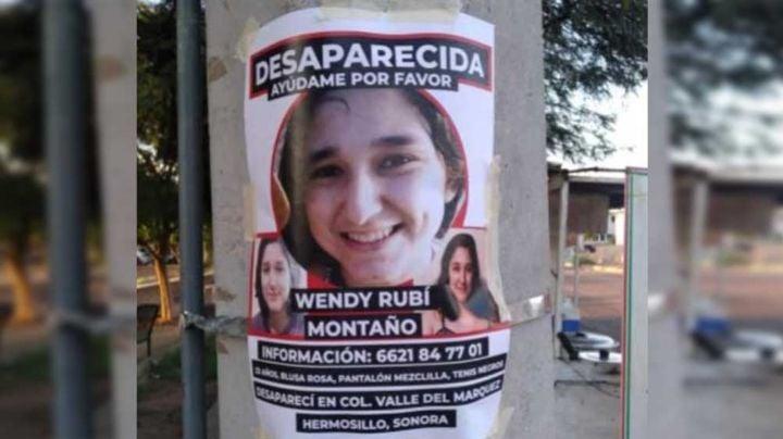 Aparece con vida Wendy Rubí Montaño, joven desaparecida en Hermosillo