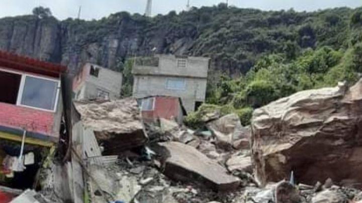 Edomex: Rescatan cuerpo sepultado tras el derrumbe del Cerro del Chiquihuite