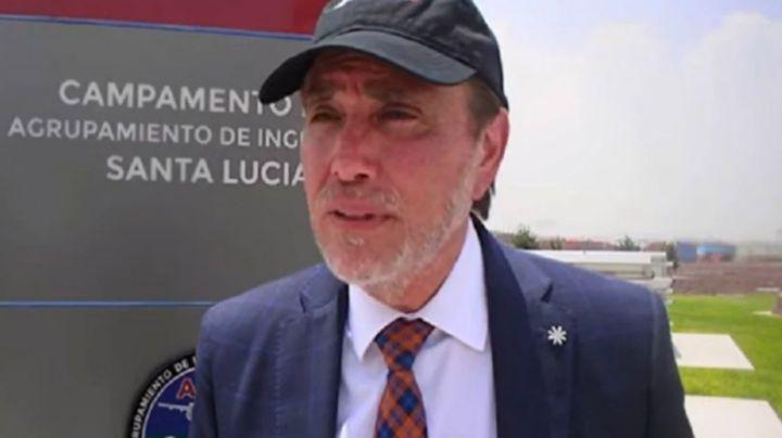 Tras ser detenido, el socio de Alemán Magnani, Alejandro del Valle fue puesto en prisión preventiva
