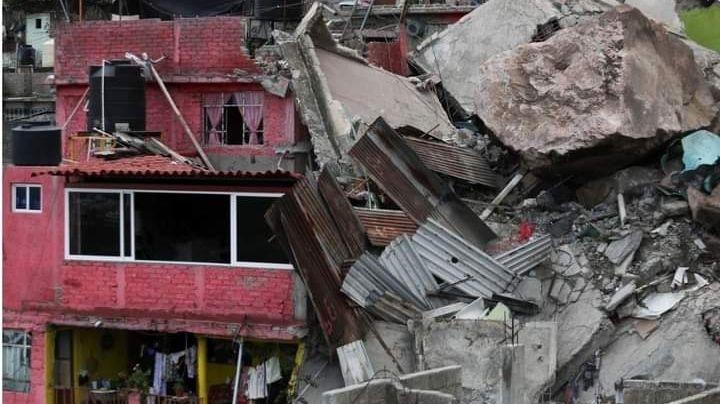 Derrumbe del cerro del Chiquihuite: Reportan 3 desaparecidos y peligro de otro colapso