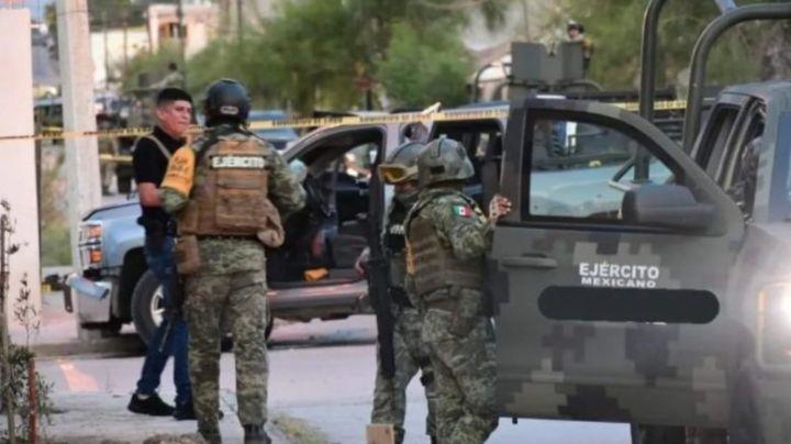 VIDEO: Niños y familiares quedan atrapados en tiroteo; sicarios se enfrentarían a militares