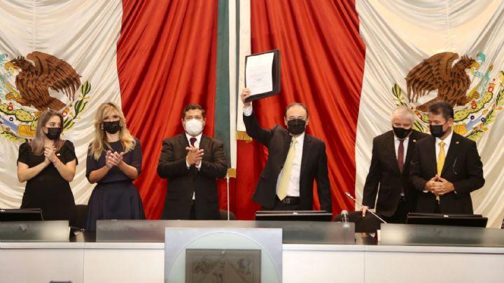 """¡No les voy a fallar!""; Alfonso Durazo asume la gubernatura de Sonora"