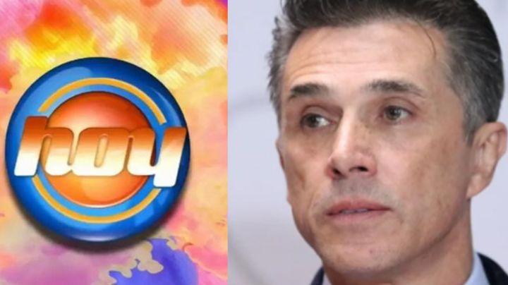 Shock en Televisa: Sergio Mayer deja plantado a 'Hoy' y conductores confirman que fue ¿encarcelado?