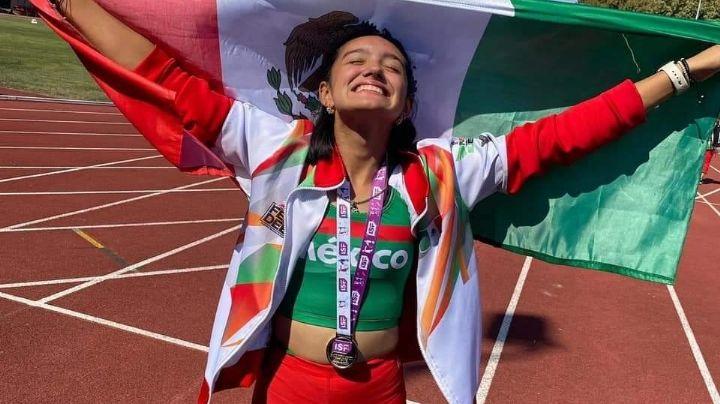 ¡Que suene la 'Yaquecita'! Camila Arvizu gana plata en el Mundial Escolar Deportivo U15