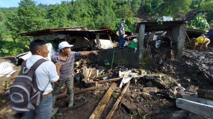 Tragedia: Tras deslave en Chiapas, muere Emiliano, de 22 años; hay otros desaparecidos