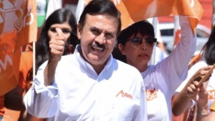 El gobernador de Sonora, Alfonso Durazo, lamenta la muerte de 'Maval', excandidato de Nogales
