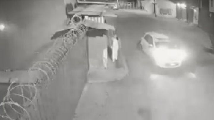 VIDEO: Enfermera se salva de ser privada de la libertad por un taxista en Tultepec