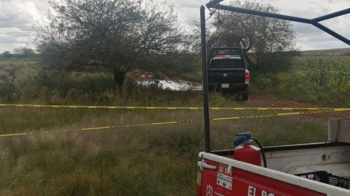 En terreno abandonado, encuentran el cuerpo de un sujeto baleado en Zacatecas