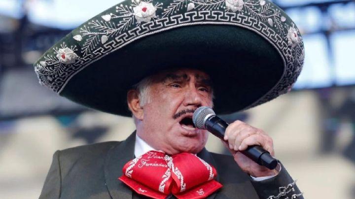 ¡Shock en la dinastía! Tras filtrarse su muerte, Vicente Fernández manda mensaje ¿de despedida?