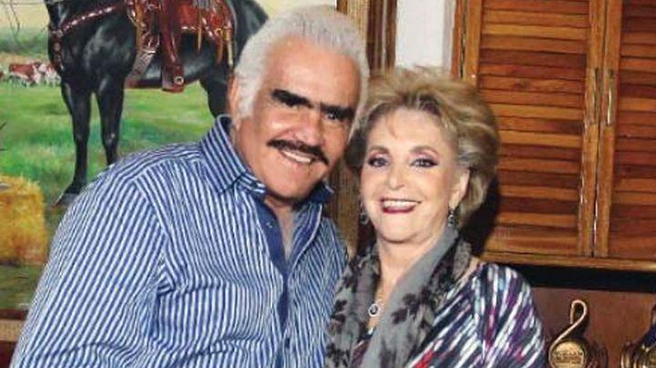 Doña Cuquita, esposa de Vicente Fernández, es dada de alta tras operación de emergencia
