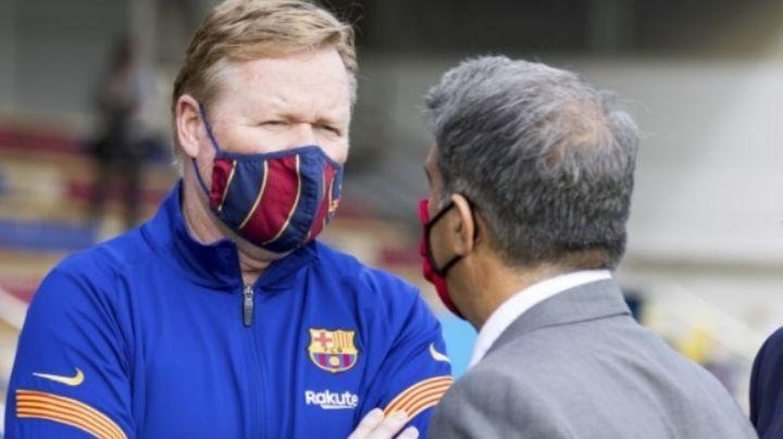 Barcelona está que arde: Quieren correr a Ronald Koeman, pero no pueden pagar