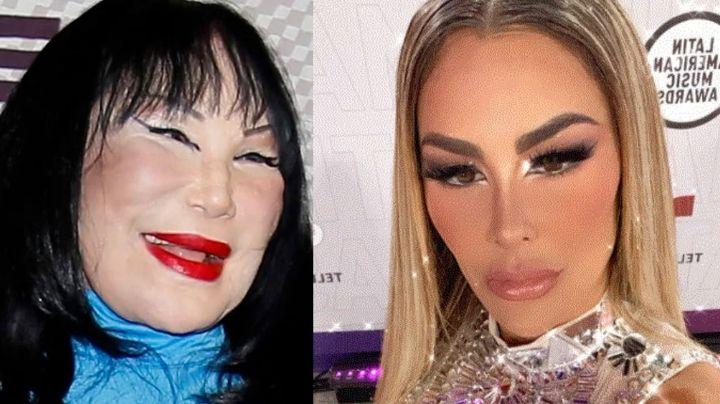 """""""Bájale al bótox"""": Nombran a Ninel Conde como """"la nueva Lyn May"""" en Instagram por nuevo arreglito"""
