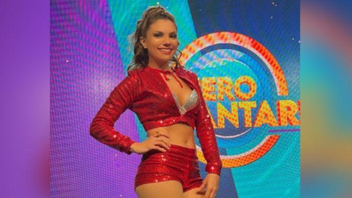 """Tábata Jalil luce su faldita más coqueta en TV Azteca y pone de cabeza a Instagram: """"Qué piernas"""""""