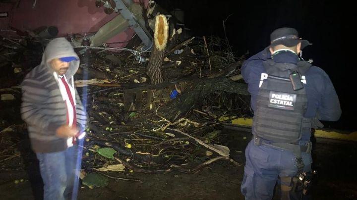 VIDEO: Evacúan a más de 80 personas por daños tras desbordamiento de presa en Zacatecas