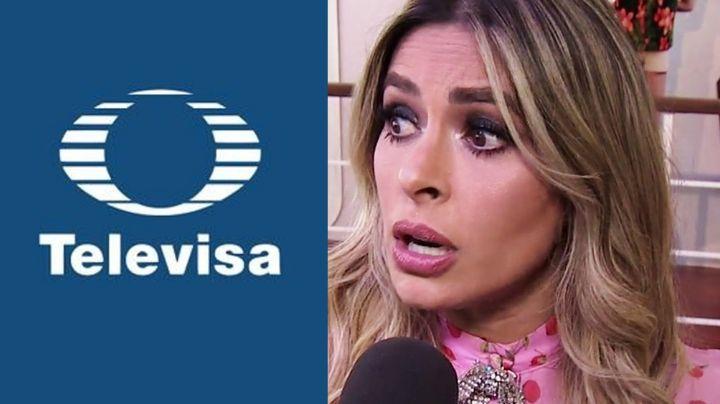 ¿Llegó borracha a Televisa? Integrante de 'Hoy' exhibe que Galilea Montijo bebe alcohol en camerinos