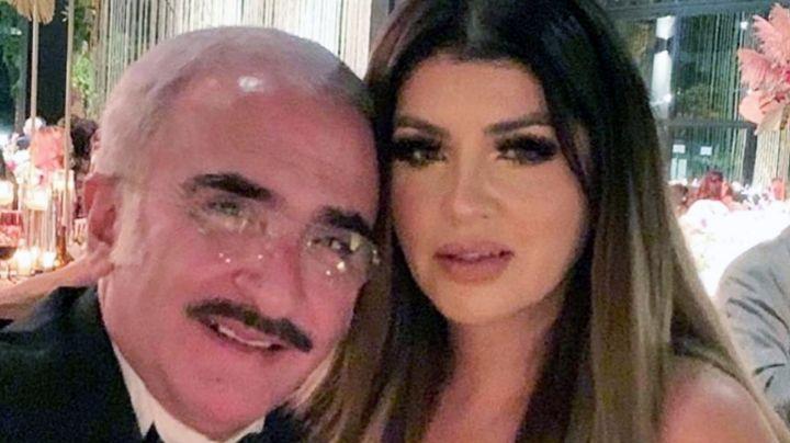 Vicente Fernández jr. revela fecha de boda con Mariana González, su novia 20 años menor