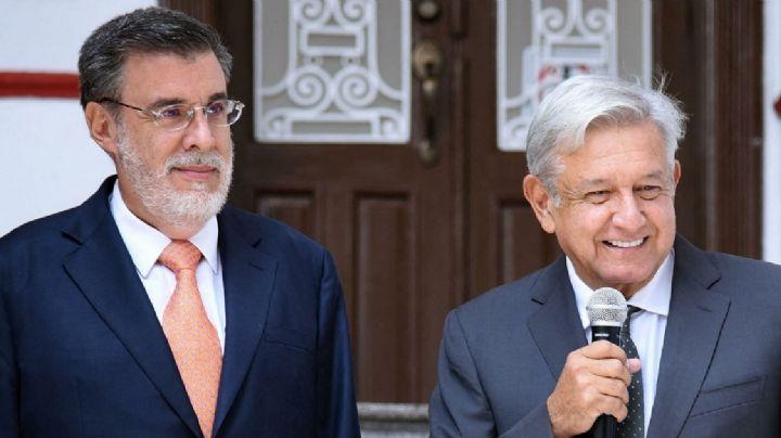 Confirma AMLO renuncia de Julio Scherer a la Consejería Jurídica; Estela Ríos ocupará su lugar