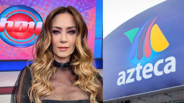 ¿La humilló? Alto mando de TV Azteca manda mensajito a Anette Michel tras cambiarlos por Televisa