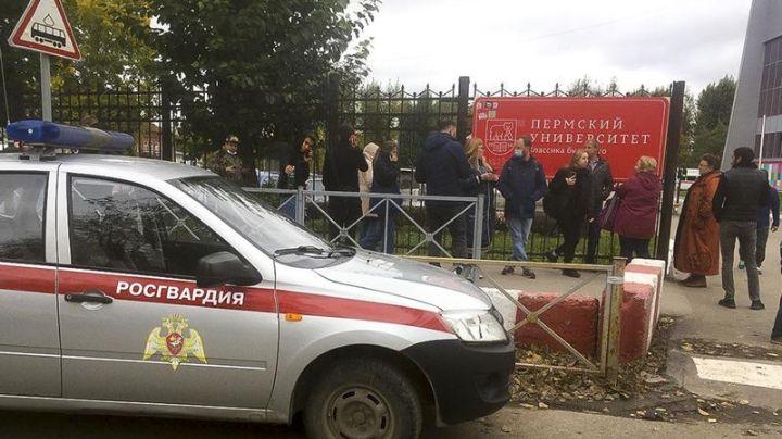 Tras elecciones, joven desata tiroteo en universidad de Rusia; hay occisos y más de 20 heridos