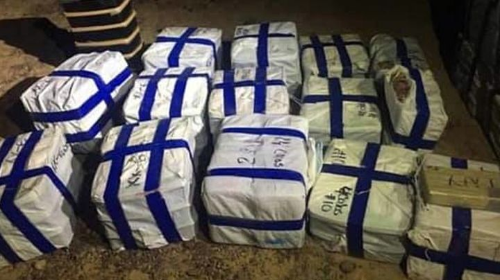 Sonora: Aseguran avioneta con casi una tonelada de drogas valuadas en más de 453mdp
