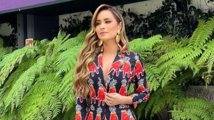 """Cynthia Rodríguez luce seductor vestido desde TV Azteca y hace 'babear' a todo Instagram: """"Diosa"""""""
