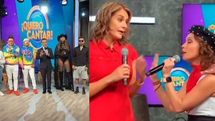"""""""Lárgate de TV Azteca"""": Elenco de 'VLA' humilla en vivo a Tábata Jalil y la 'corren' del programa"""
