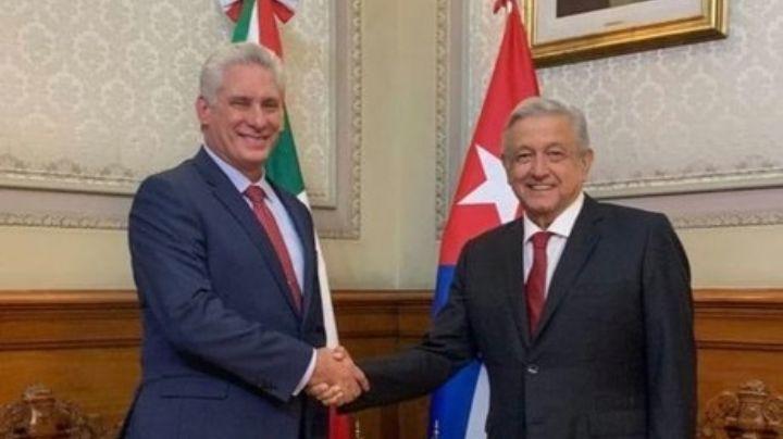 ¿Conflictos con Joe Biden? AMLO aclara si visita de Díaz-Canel a México trajo 'problemas' con EU