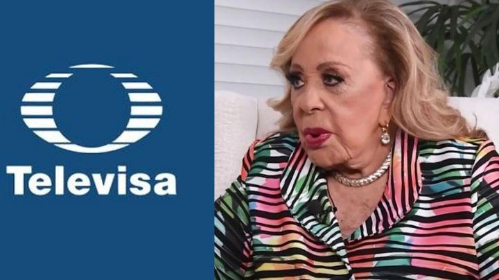 ¿Luto en la dinastía? Tras 52 años en Televisa, actriz filtra inesperada noticia sobre Silvia Pinal