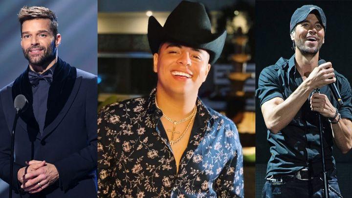 ¡Grupo Firme sube como la espuma! Ricky Martin y Enrique Iglesias planearían colaboración