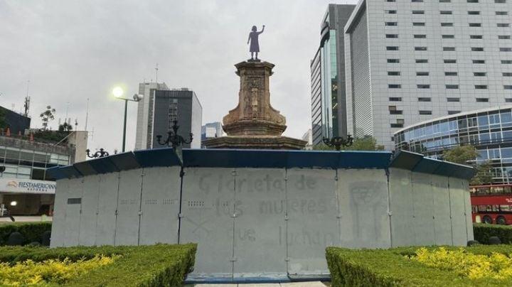 En menos de 24 horas: Censuran nombres de la 'Glorieta de las mujeres que luchan' en CDMX
