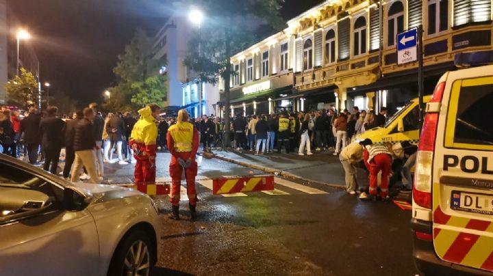 Violencia total: Noruega estalla en peleas masivas por el fin de las restricciones de Covid-19