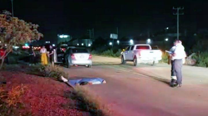 Muere hombre atropellado a las afueras de Ciudad Obregón; intentó cruzar carretera