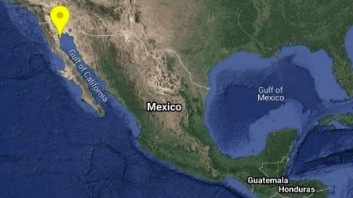Tiembla en México: Se registra sismo de magnitud 4.3 en Baja California