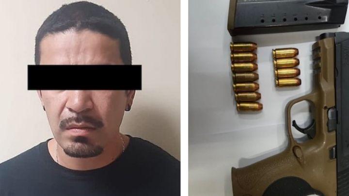 Sorprenden a sujeto con arma de fuego cargada en San Luis Río Colorado; fue detenido