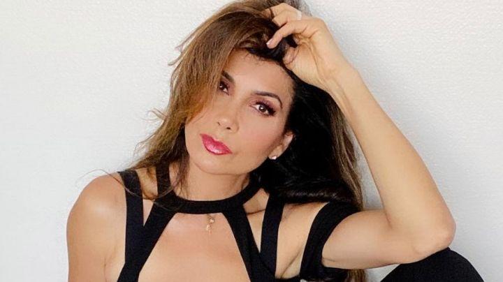 Paty Manterola, actriz de Televisa, impacta con espectacular bañador negro a sus 49 años
