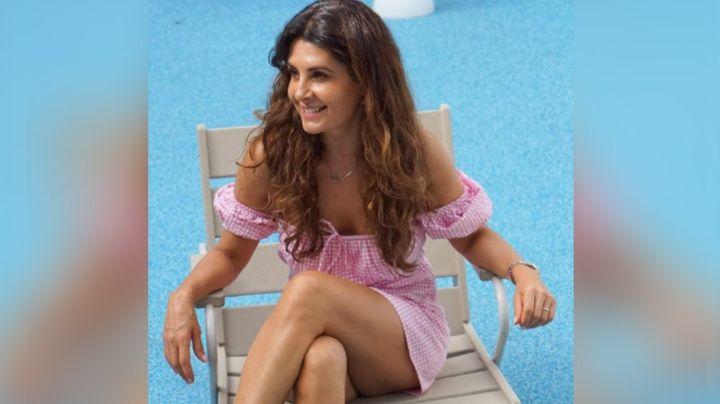 Mayrín Villanueva, actriz de Televisa, modela con su short más coqueto y derrite Instagram