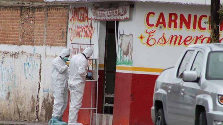 Caos en Zacatecas: Tres hombres son asesinados dentro de carnicería; entre ellos estaba un policía