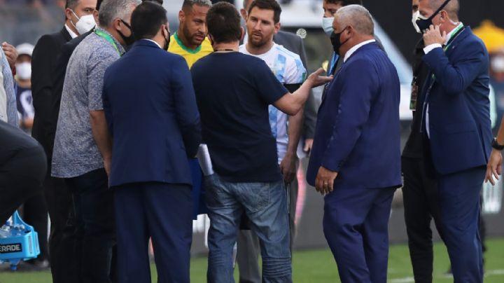¿Por un caso de Covid-19? Autoridades sanitarias suspenden partido de Brasil vs Argentina