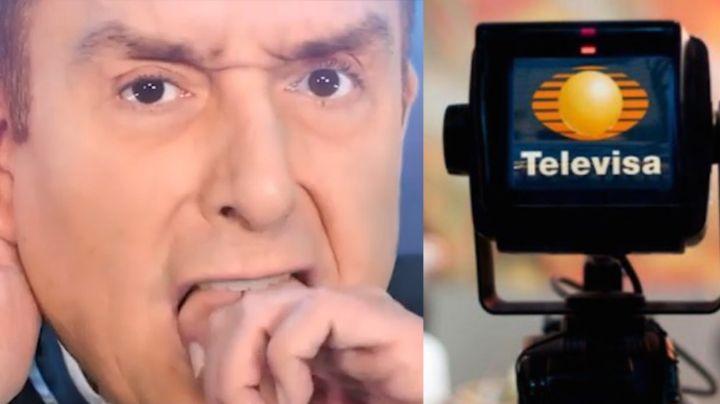 Tras 19 años en TV Azteca y amorío con Bisogno, famosa los 'traiciona' y llega a Televisa