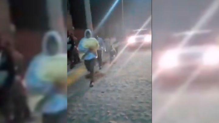 VIDEO: Tras sismo, vecinos aterrados abandonan sus casas; temían colapso de presa en Guanajuato