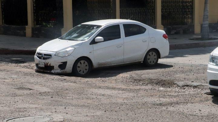 Sergio Pablo Mariscal culpa a las lluvias por el mal estado de las calles en Cajeme