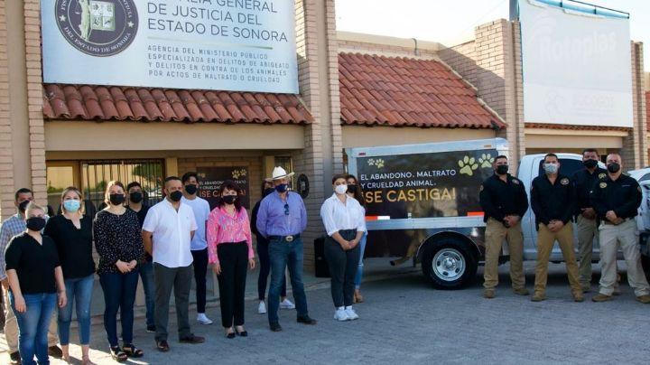 Fiscalía de Sonora presenta el modelo de atención en contra del maltrato animal